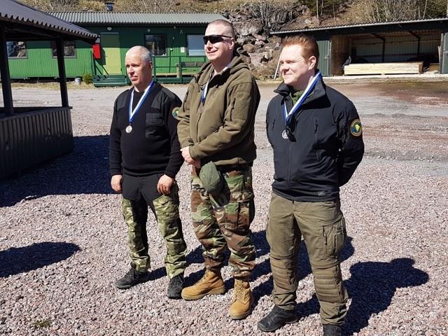 Kilta menestyi Sinisen Reservin kiväärikenttäammunnan mestaruuskilpailussa