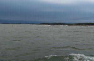 saderintama merellä